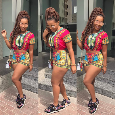 OMG!-BENEDICTA-GAFAH-SHOWS-HER-HOTNESS-IN-AFRICAN-PRINT-OUTFIT