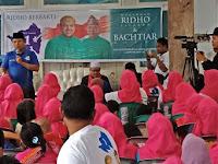 Di Keteguhan Teluk Betung, Ridho Sosialisasikan Ekonomi Kerakyatan