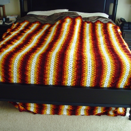 A Gamer's Wife The MileaMinute Afghan Pattern Is A Lie Amazing Mile A Minute Afghan Pattern