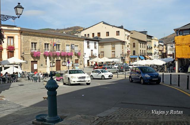 Plaza Mayor de Villafranca del Bierzo, León