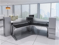 3 User Open Desking Configuration