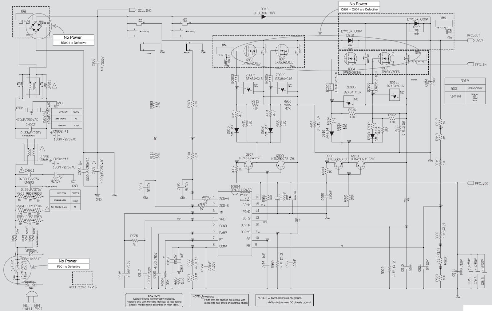 lg cm8450 troubleshooting and circuit diagram mini hi