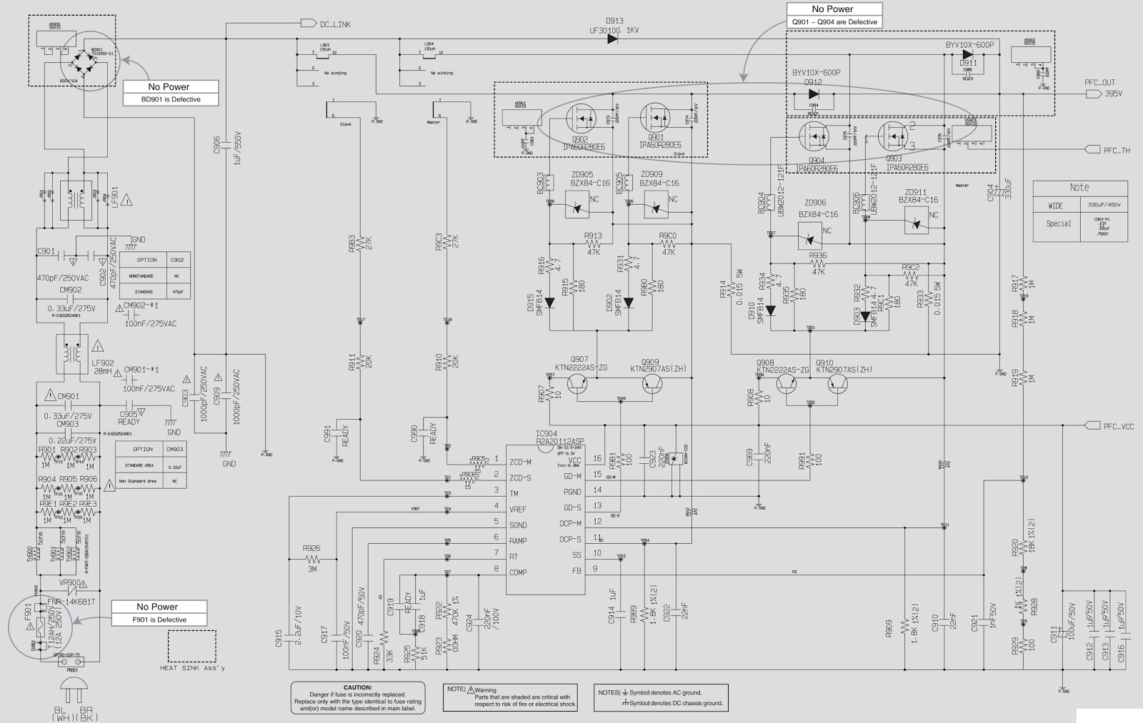 LG CM8450 Troubleshooting and Circuit diagram Mini Hi-Fi