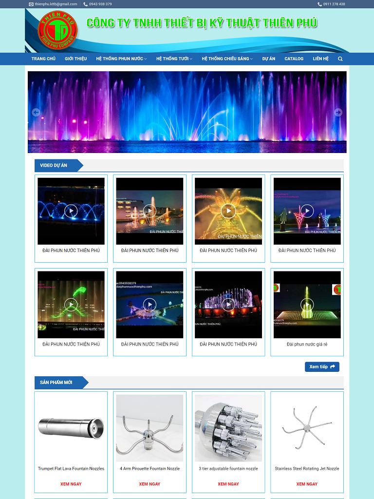 Dự án Công ty Thiết bị kỹ thuật Thiên Phú - Ảnh 1