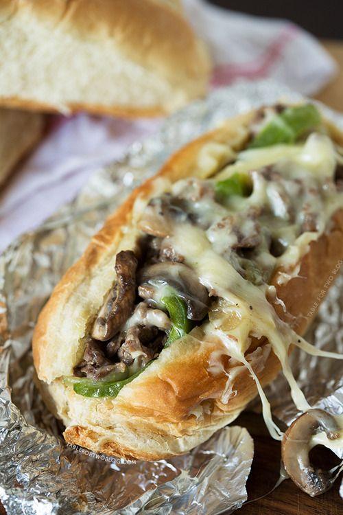 Sandwich de Champiñones y Queso