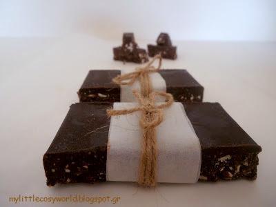 χειροποίητη σοκολάτα