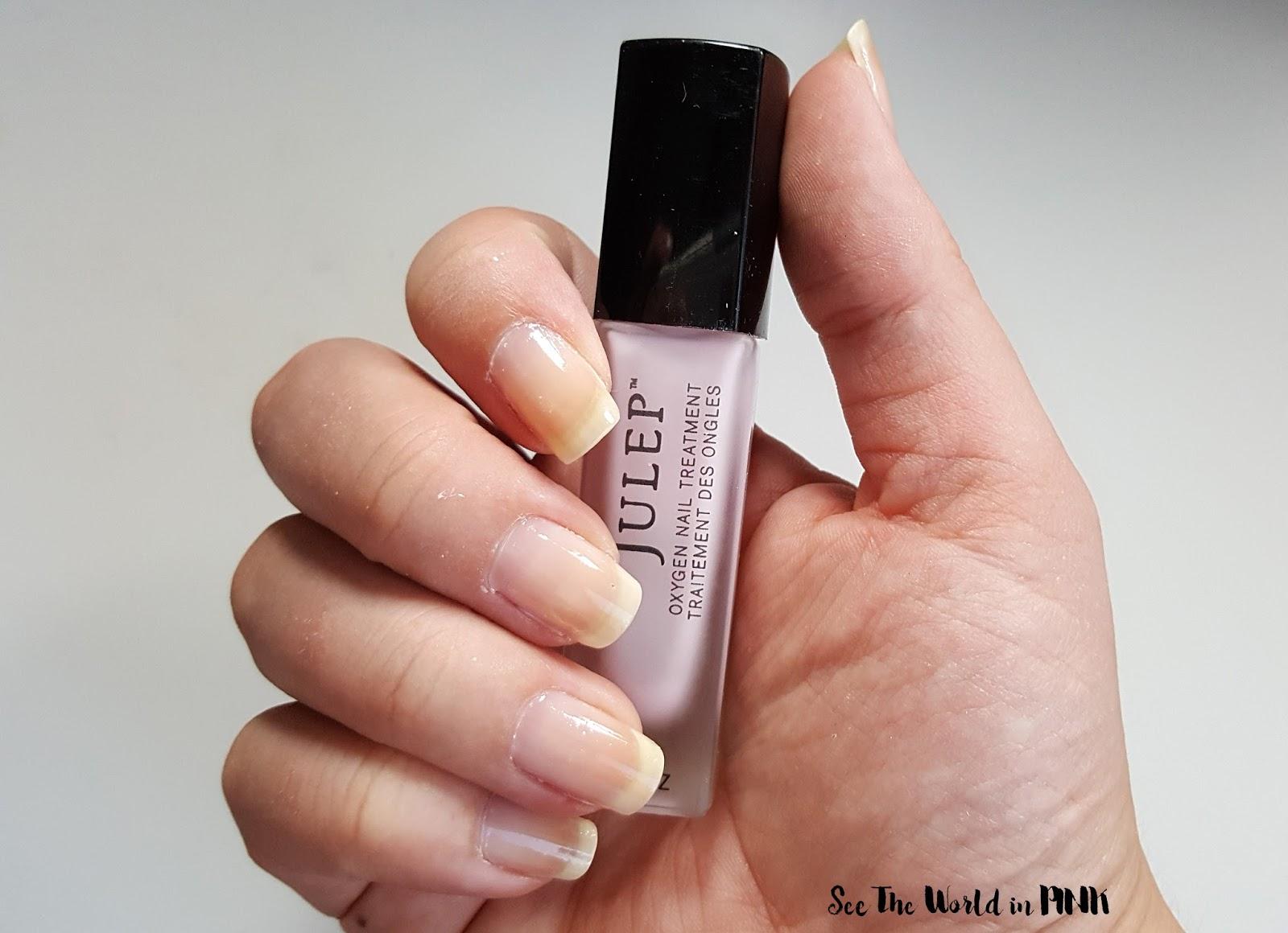 Manicure Tuesday - Julep Oxygen Nail Treatment