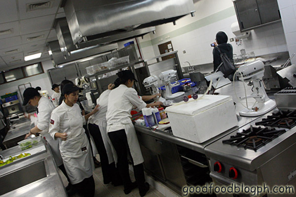 Kitchen+Room+Interior - Desserts and Pastries Overload - L' Art de la Patisserie Enderun Colleges
