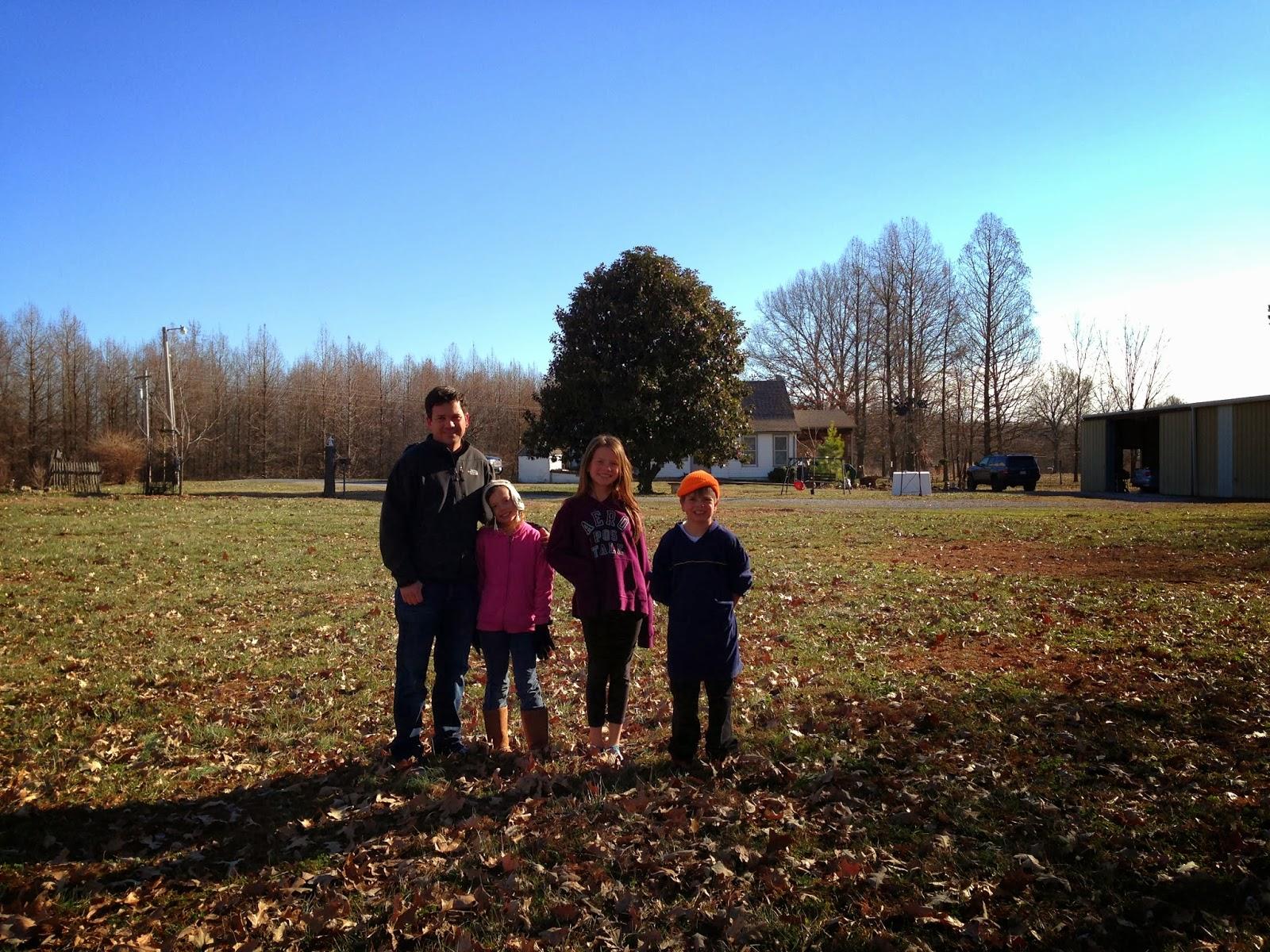 farm, illinois, family smiling