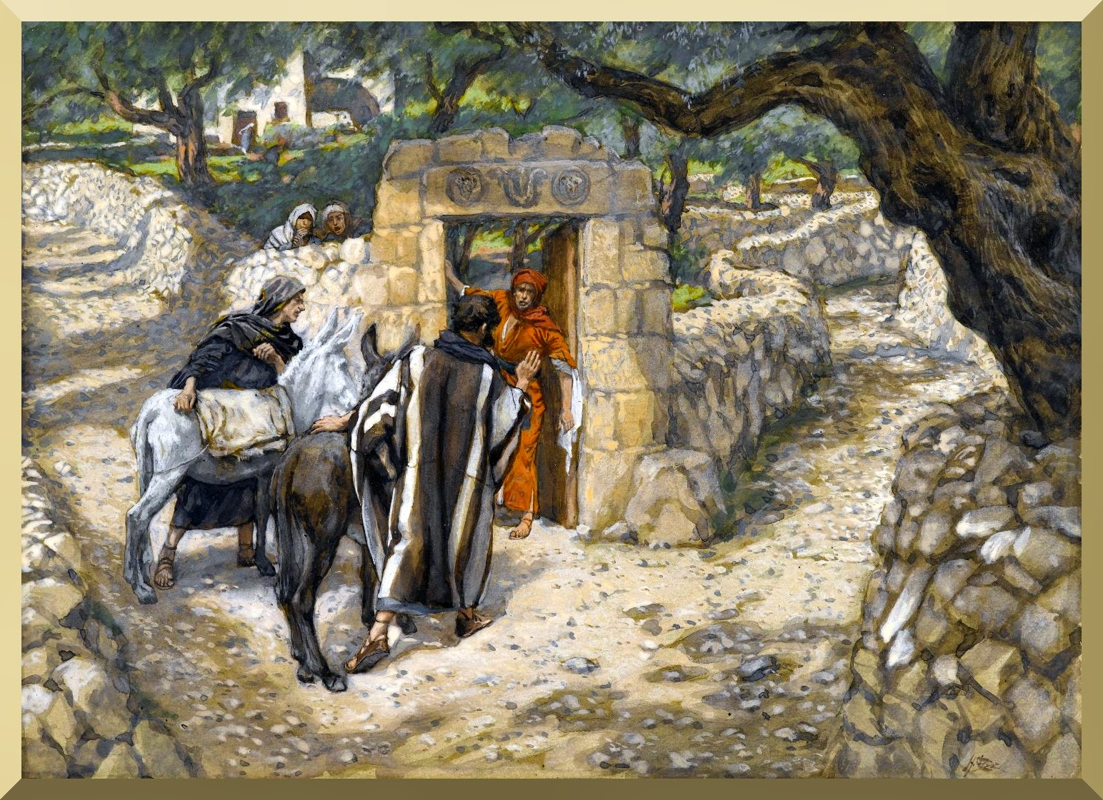 """The Foal of Bethpage"" -- by James Tissot"