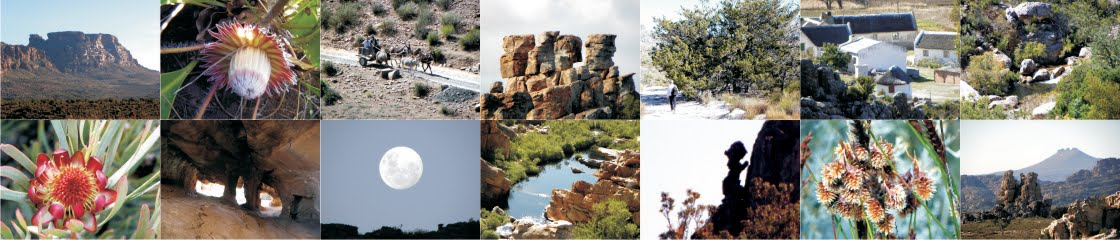 Hike the Cederberg: the Map