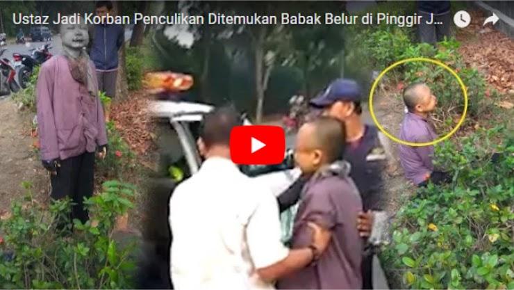Ustaz Jadi Korban Penculikan Ditemukan Babak Belur di Pinggir Jalan, Gagal Isi Ceramah di Jakarta