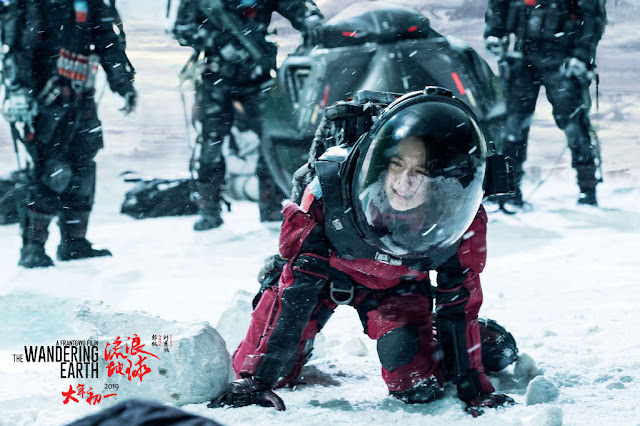 The Wandering Earth Chinese sci fi movie Zhao Jinmai