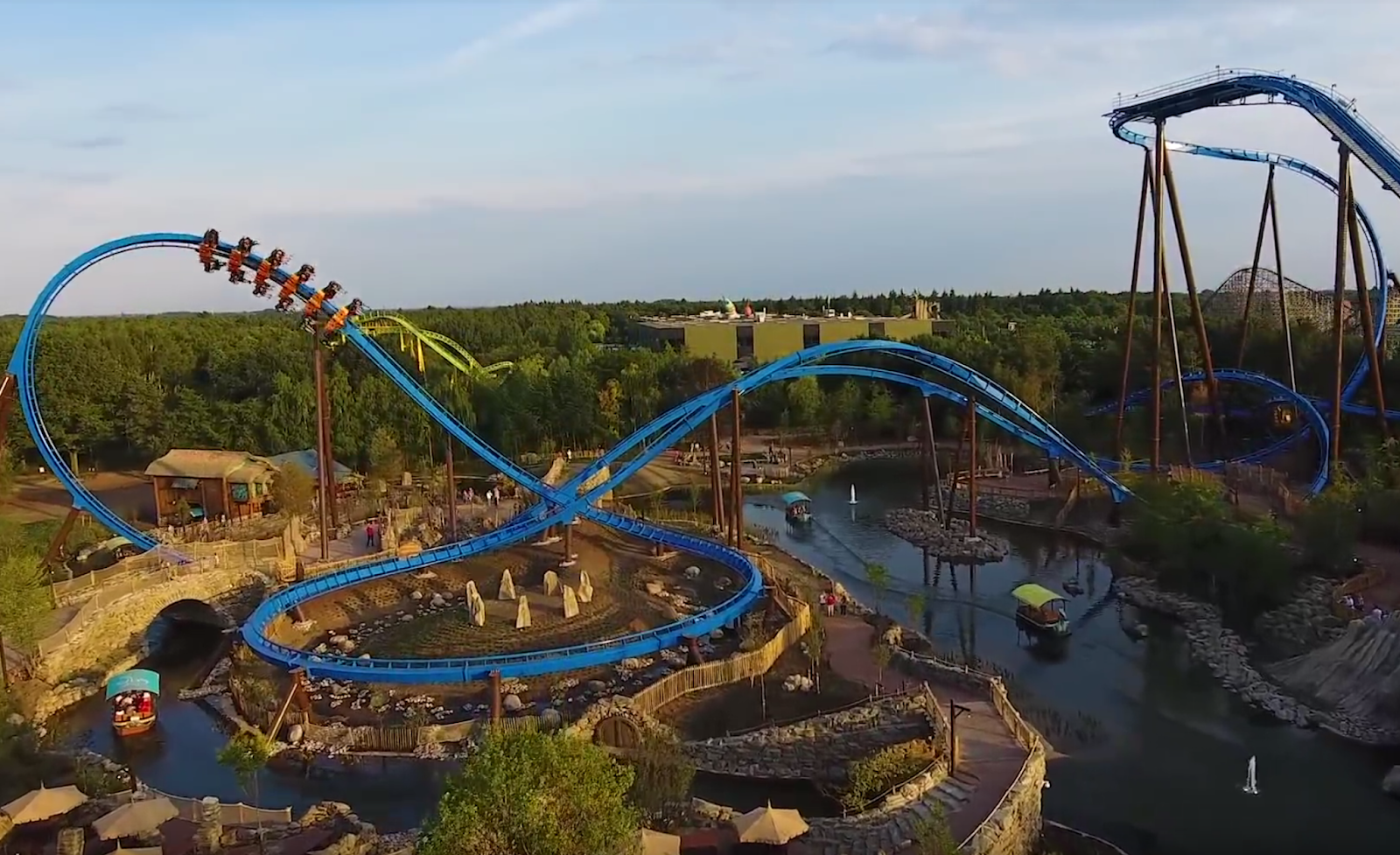 Newsplusnotes Toverlands New Bm Wing Coaster Fenix Opens This