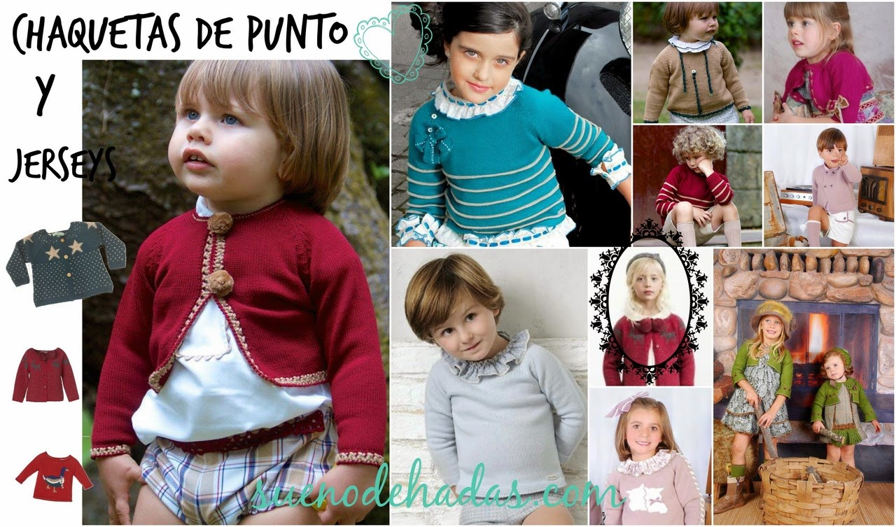 Chaquetas de punto y jerseys - Básicos de invierno moda infantil