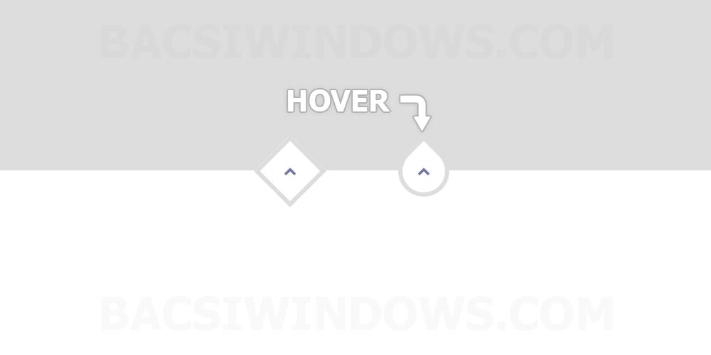 Tạo nút Back To Top với hiệu ứng Hover bằng CSS cực đẹp cho Blogspot