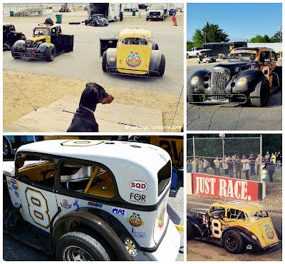 US Legends race car