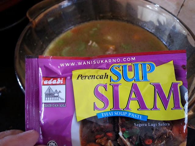 Resepi Sup Daging Paling Mudah Dan Sedap Guna Perencah Sup Siam