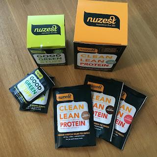 NuZest Green Juice & Protein Shakes