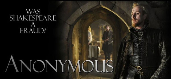 Anonymous 2011 movie poster