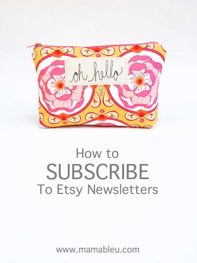 How to subscribe to Etsy Newsletters and links to info about how you can use that information to increase your etsy shop sales