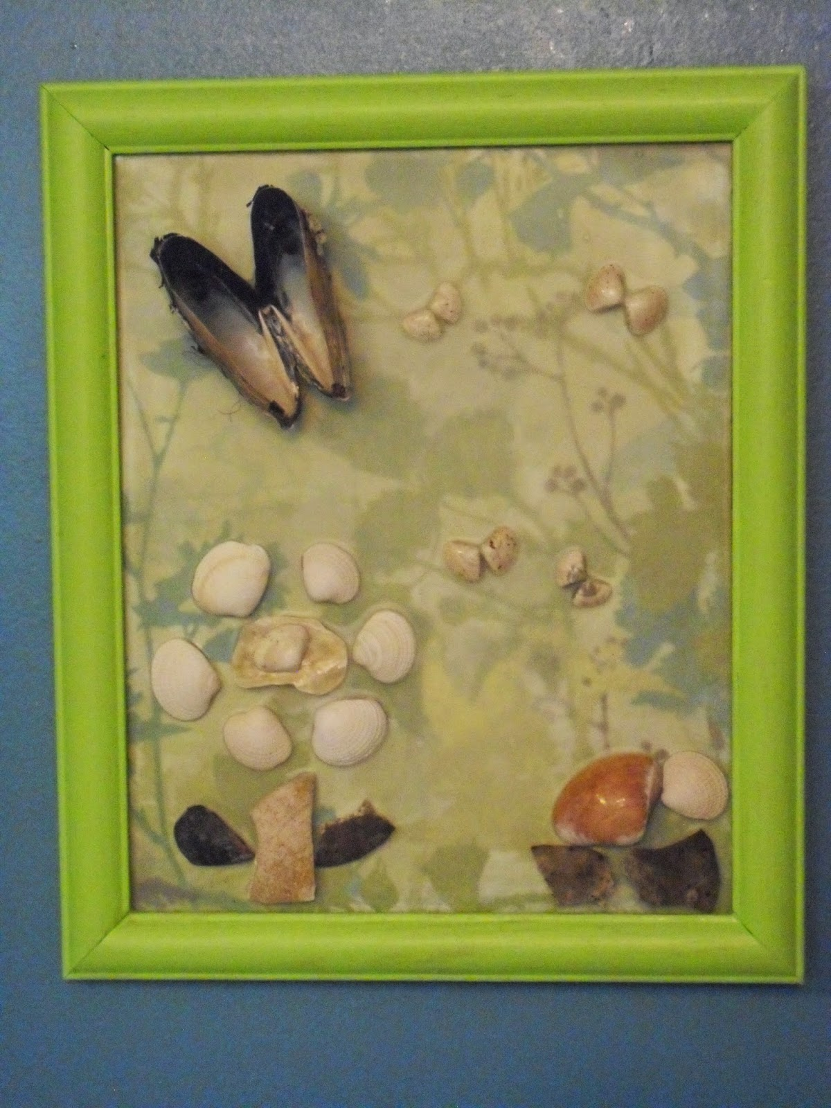 MixingItUp Create Pictures With Sea Shells - Butterfly