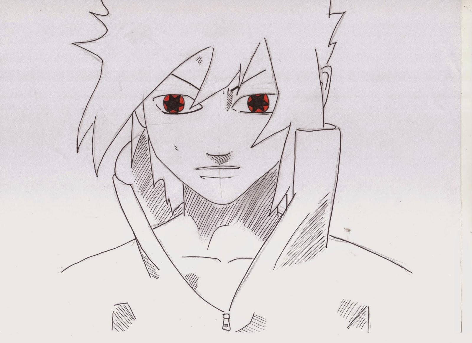 Il Giappone Secondo Me Disegni 2 Sasuke Con Gli Occhi Storti
