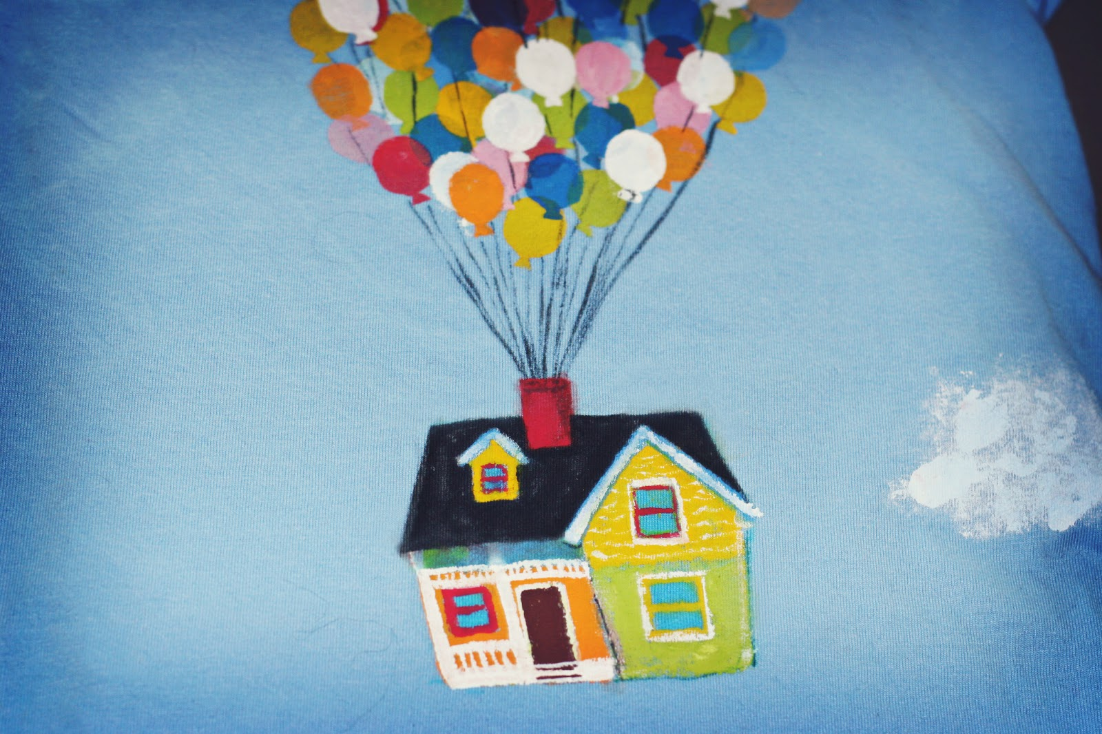 movie balloon house drawing
