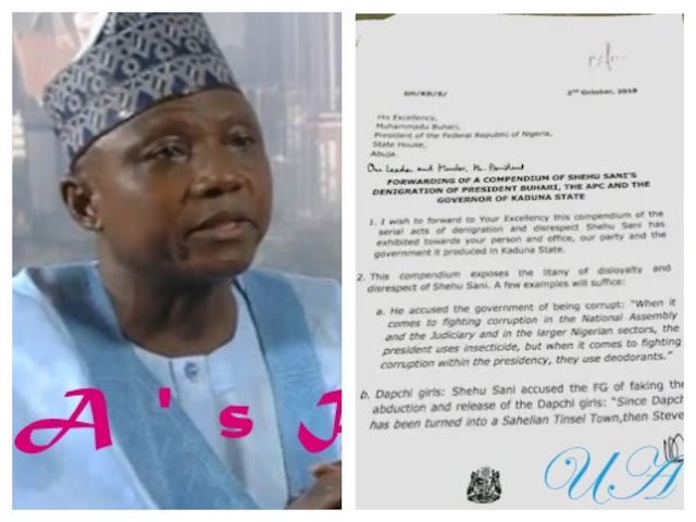 Presidency To El-Rufai: You Are On Your Own, Buhari Not In Receipt Of Your Letter