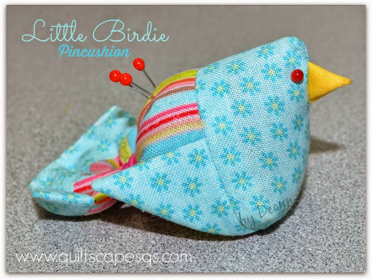 Littlebirdiepincushion