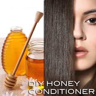 handmade hair moisturizer rosemary -honey-conditioner