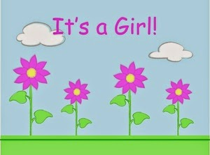 baby shower clip art for girls