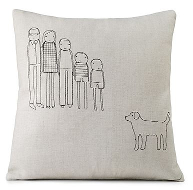 personalized+pillow 6 Ways to Uniquely Decorate Your Home 20