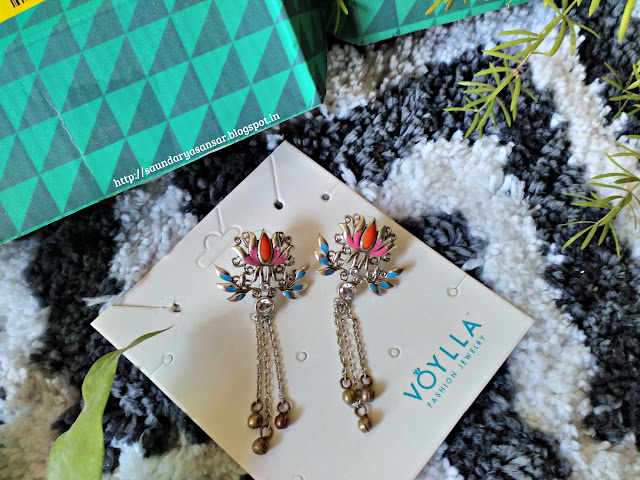 Studio Voylla earings- Kutch Collection