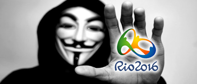 Anonymous promete atacar empresas que estão patrocinado o Rio 2016.