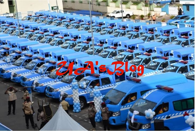 Innoson Motors Delivers 77 New Vehicles To FRSC (Images)