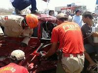 Filha e esposa de oficial de justiça de Soledade sofrem acidente na BR-230