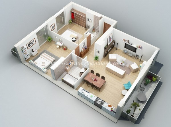 thiết kế thi công xây nhà đẹp giá rẻ