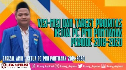 Visi dan Misi Ketua PC PMII Pontianak
