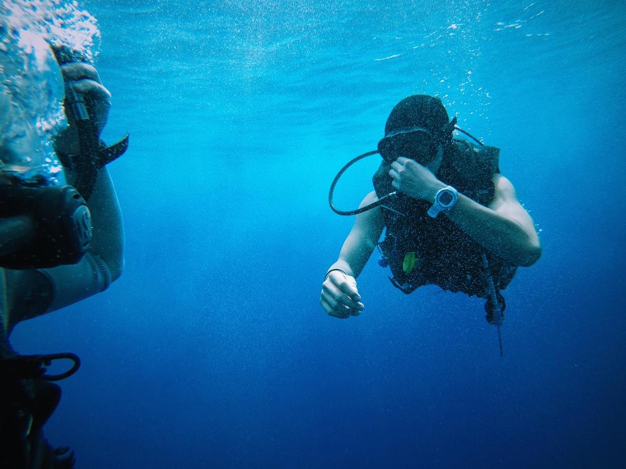Reef and Wreck Diving in Dubai