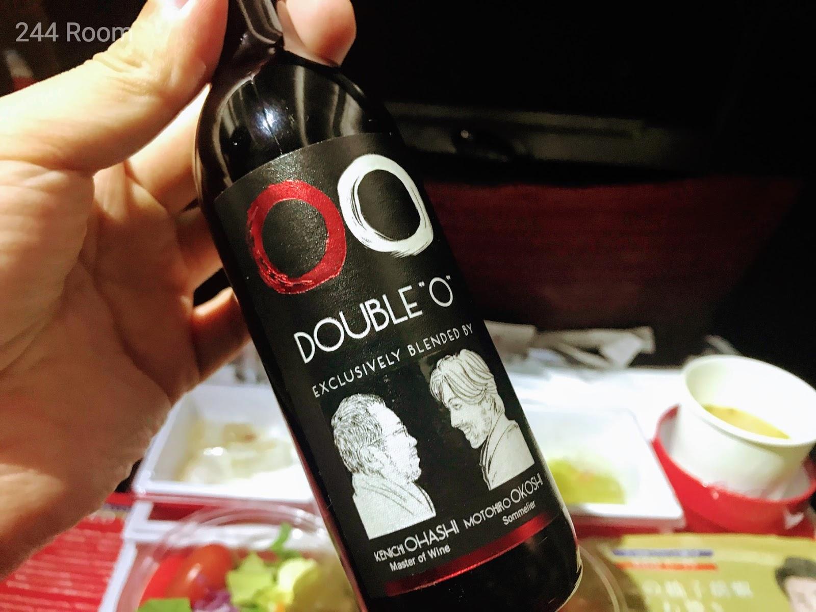 JALダブルオー赤ワイン