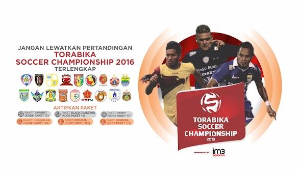 Paket Orange TV TSC Torabika Soccer Championship 2016
