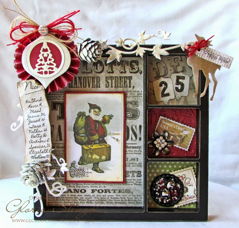 Scraps Of Life Cropstop Guest Spot Christmas Printer S Tray