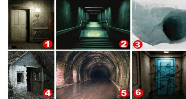 Intriguing Personality Test Which Door Scares You The Most