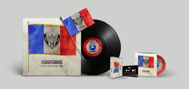 Indochine: Maxi sencillo y clip - Un été français (un verano francés)