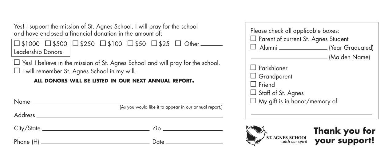 pledge form sample - Militarybralicious - donation pledge form template