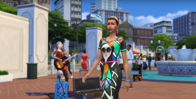 The Sims 4 City Living Free Full Version