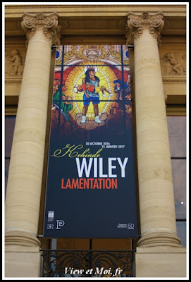 affiche facade petit palais exposition kehinde wiley