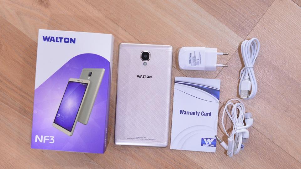 Primo NF3 Unboxing দেশে তৈরি স্মার্টফোন Walton Primo NF3 এর হ্যান্ডস-অন রিভিউ