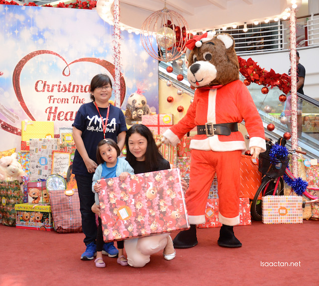 Even Santa Bear was present that morning